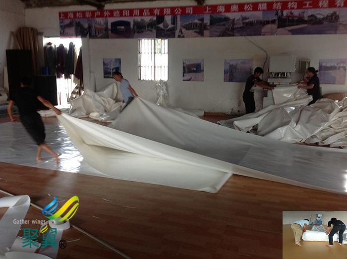 江苏煤场膜结构车棚膜布批发加工多少钱平米材料种类生产