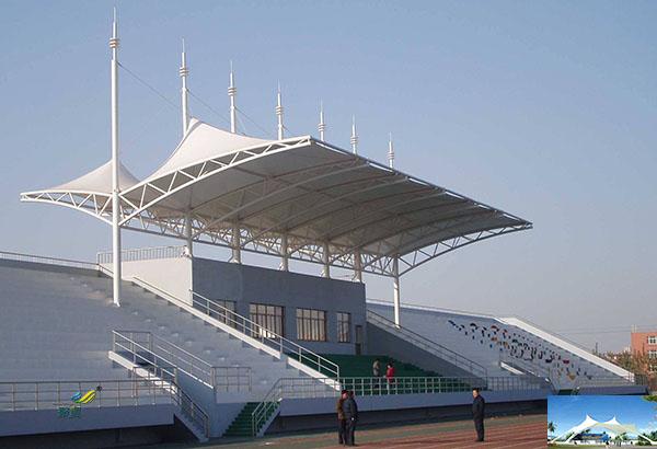 青岛充气张拉结构和膜结构建筑设施安装设计说明