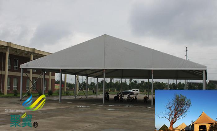乌鲁木齐膜结构活动防风租赁帐篷篷房定制厂家施工方案