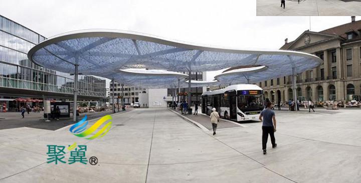 膜结构停车棚材料科学研究总分析|膜材遮阳特性