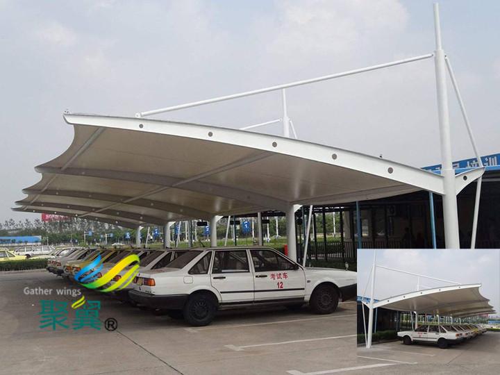 聚翼做安全的膜结构车棚工程|经济效益好