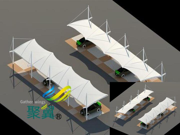 上海聚翼膜结构的膜预制|膜结构车棚常用膜材