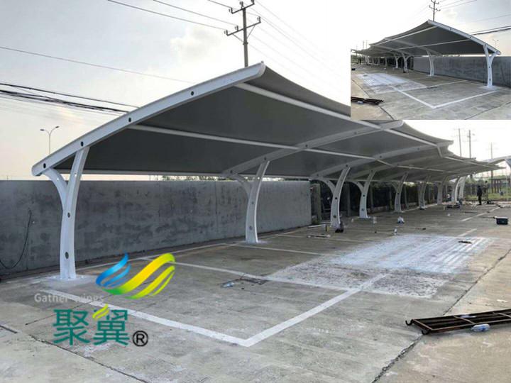 膜结构车棚钢构件螺栓连接性能小知识 张拉膜结构