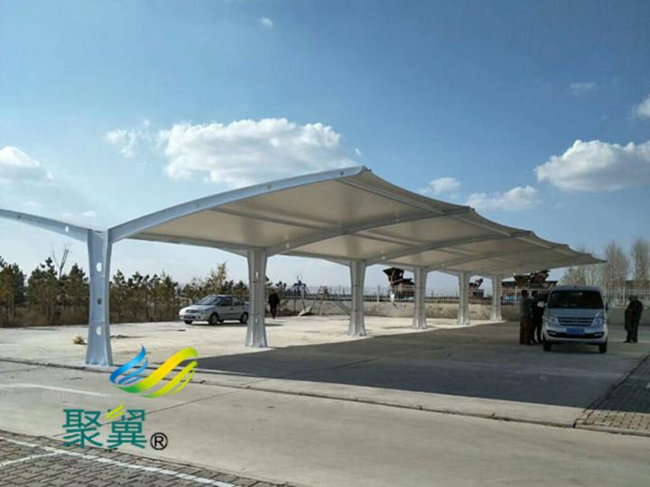如何选择膜结构(车棚)膜材|聚翼膜结构车棚工程公司