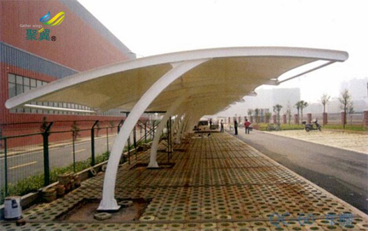 宿州膜结构车棚膜结构遮阳棚