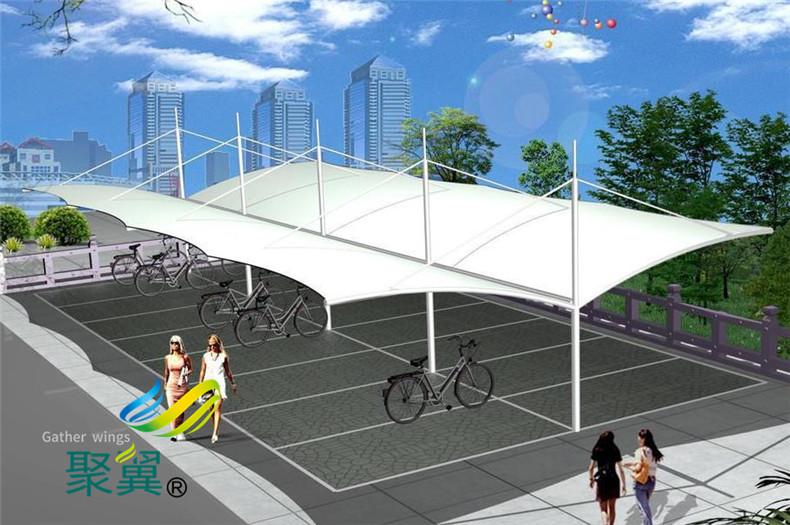 景观膜结构保修期内维护方案|PVC膜材料雨棚