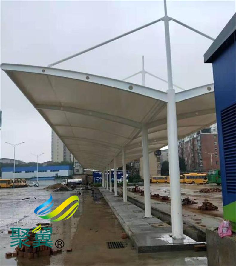 膜结构停车棚雨棚地脚螺栓生锈的原因和预防办法