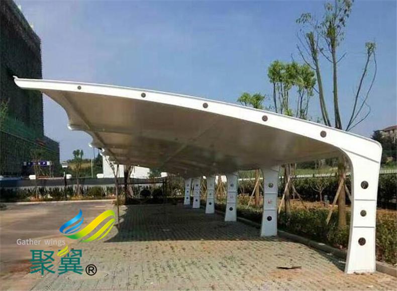 简述膜结构车棚遮阳雨棚材料防火能力和防火分类