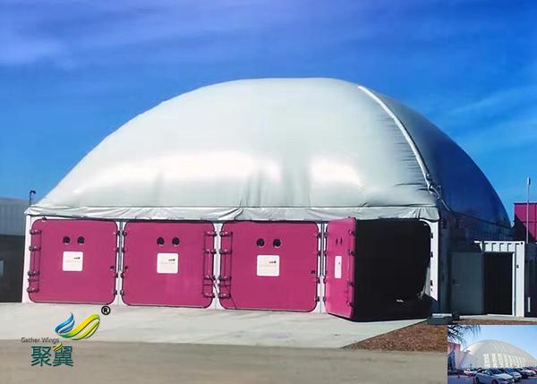 充气索膜结构建筑工程厂家实例分析