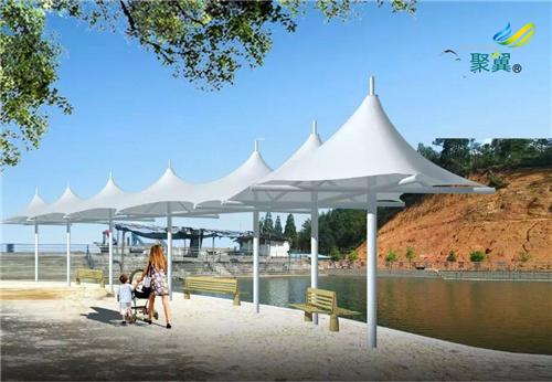 公园膜结构景观凉亭膜结构特点及保养维修