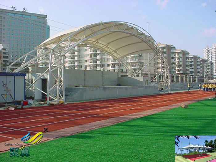 膜结构露天体育场馆看台球场膜设计施工