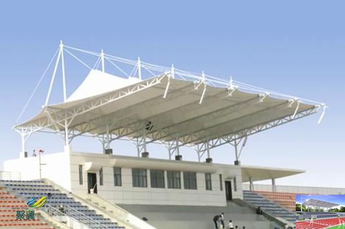 膜结构体育场馆看台防火性耐久性 积雪对策